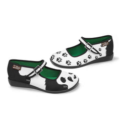 Chocolaticas® Panda Women's Mary Jane Flat