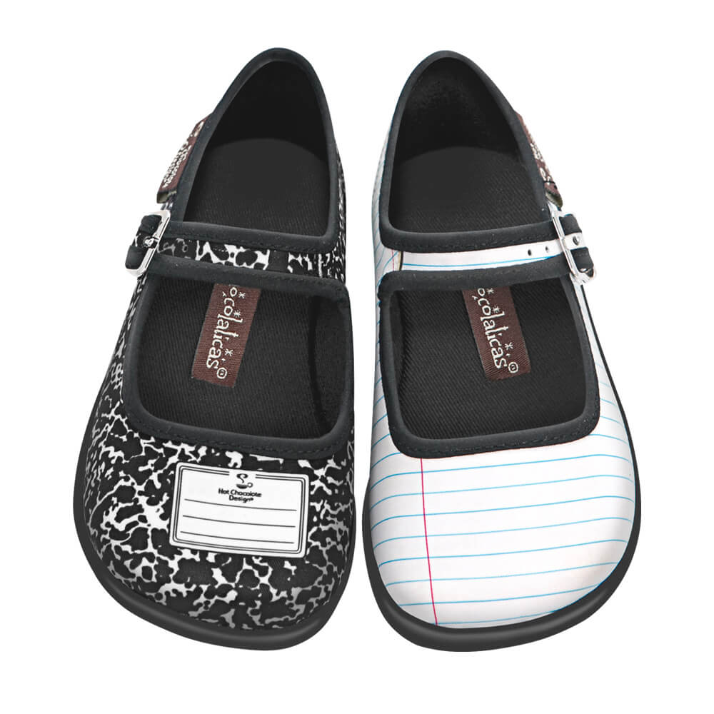 Mini Chocolaticas® Notebook Girls Mary Jane Flat