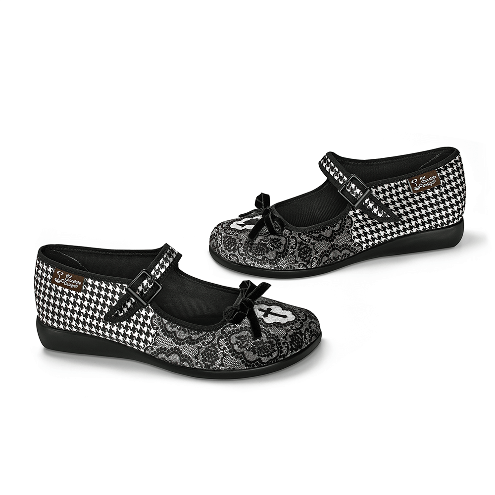 Chocolaticas® Simonette Women's Mary Jane Flat