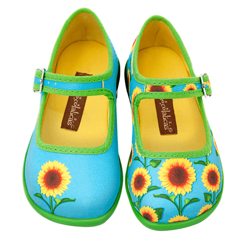 Mini Chocolaticas® Sunflower Girls Mary Jane Flat