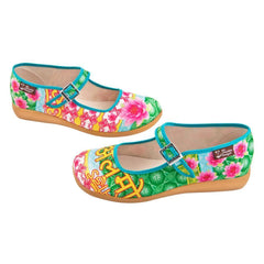Chocolaticas® Shanthi Women's Mary Jane Flat