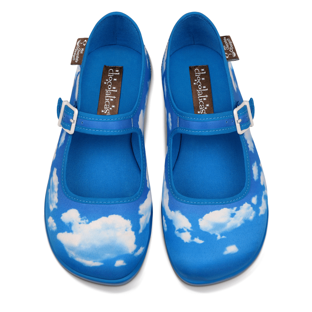Chocolaticas® Sky Women's Mary Jane Flat