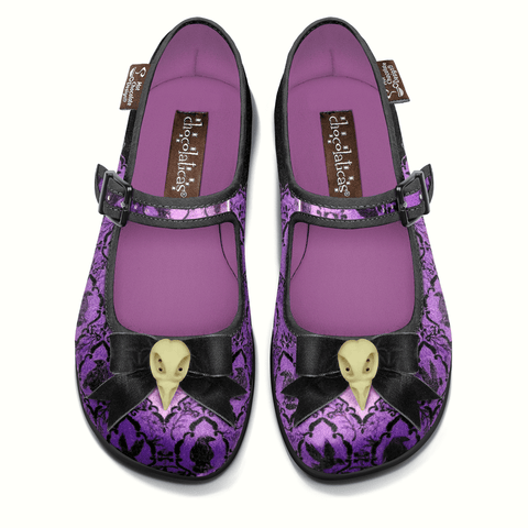 Chocolaticas® Raven Women's Mary Jane Flat
