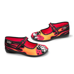 Chocolaticas® Hot Rod Women's Mary Jane Flat