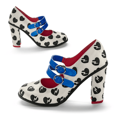 Chocolaticas® High Heels He Loves Me, He Loves Me Not Women's Mary Jane Pump