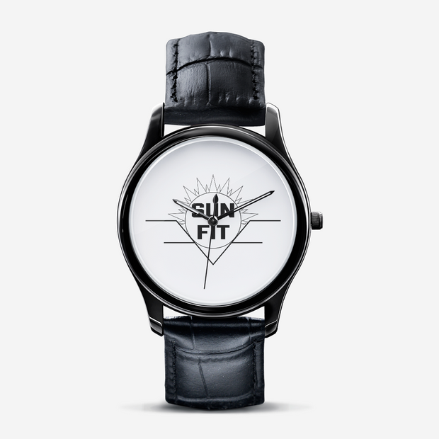 Classic Fashion Black Quartz Watch