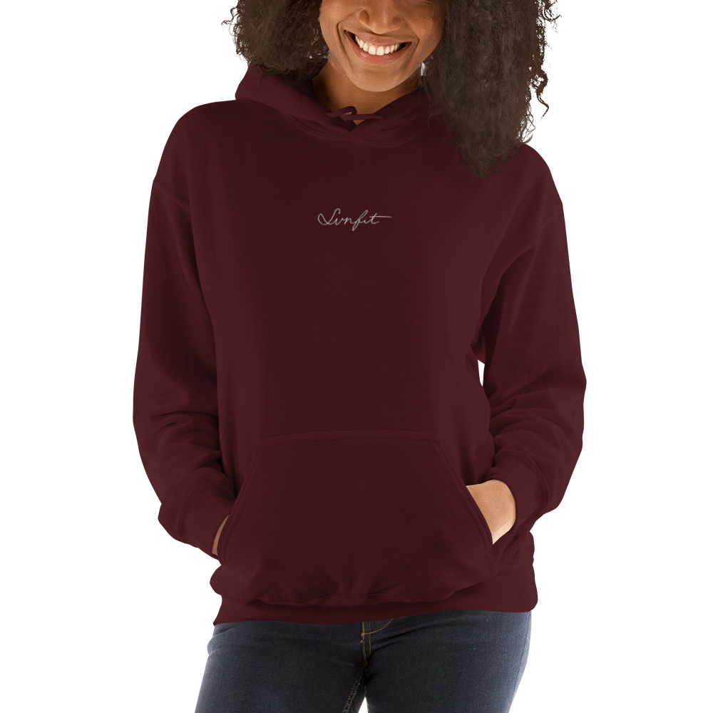 SunFit Embroidered Hoodie (White Font)
