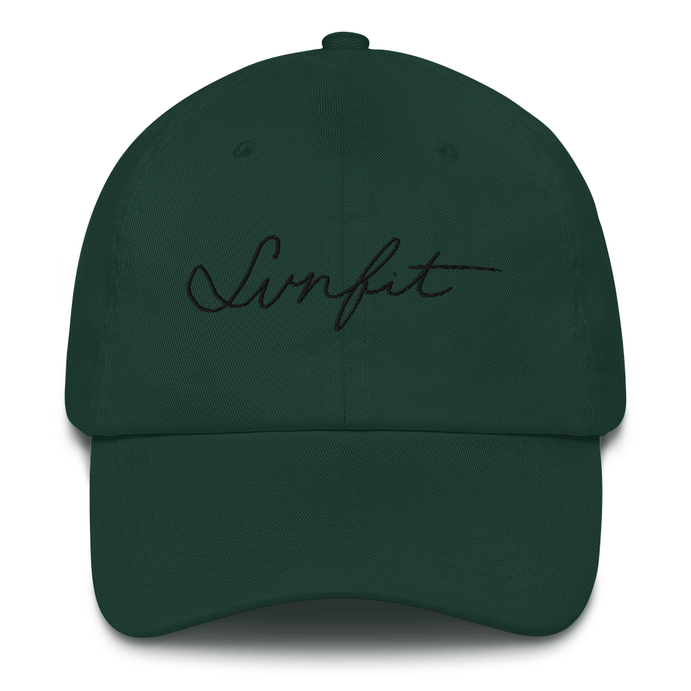 SunFit Embroidered Hat (Black Font)