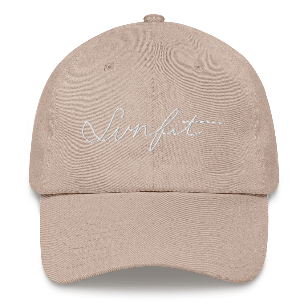 SunFit Embroidered Hat (White Font)