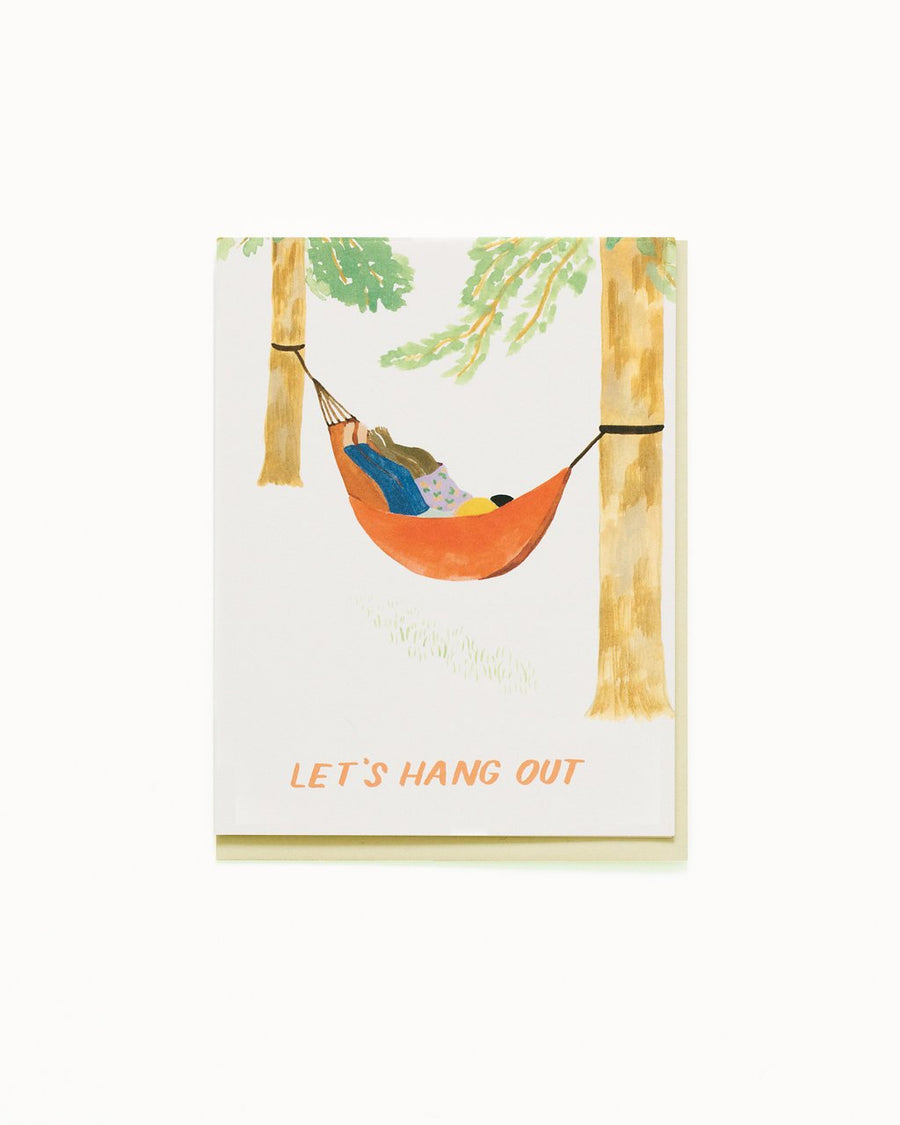 Hammock Hang Out Card