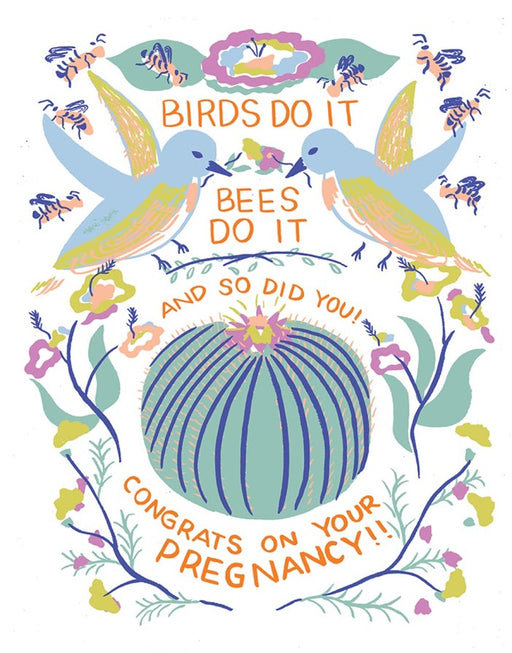 Birds Do It Card