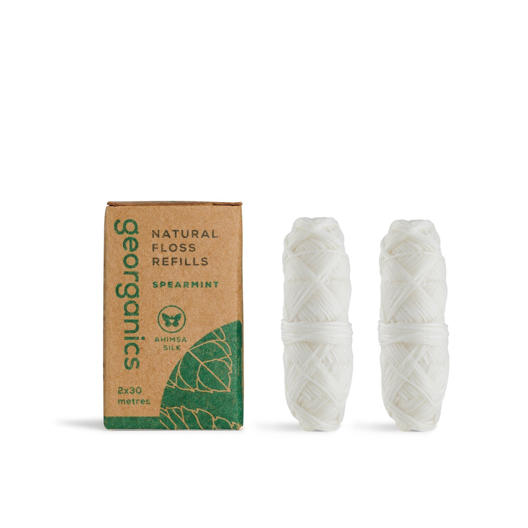 Natural Silk Dental Floss Refills