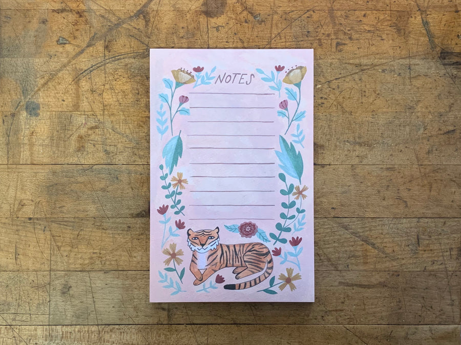 Tiger Notepad