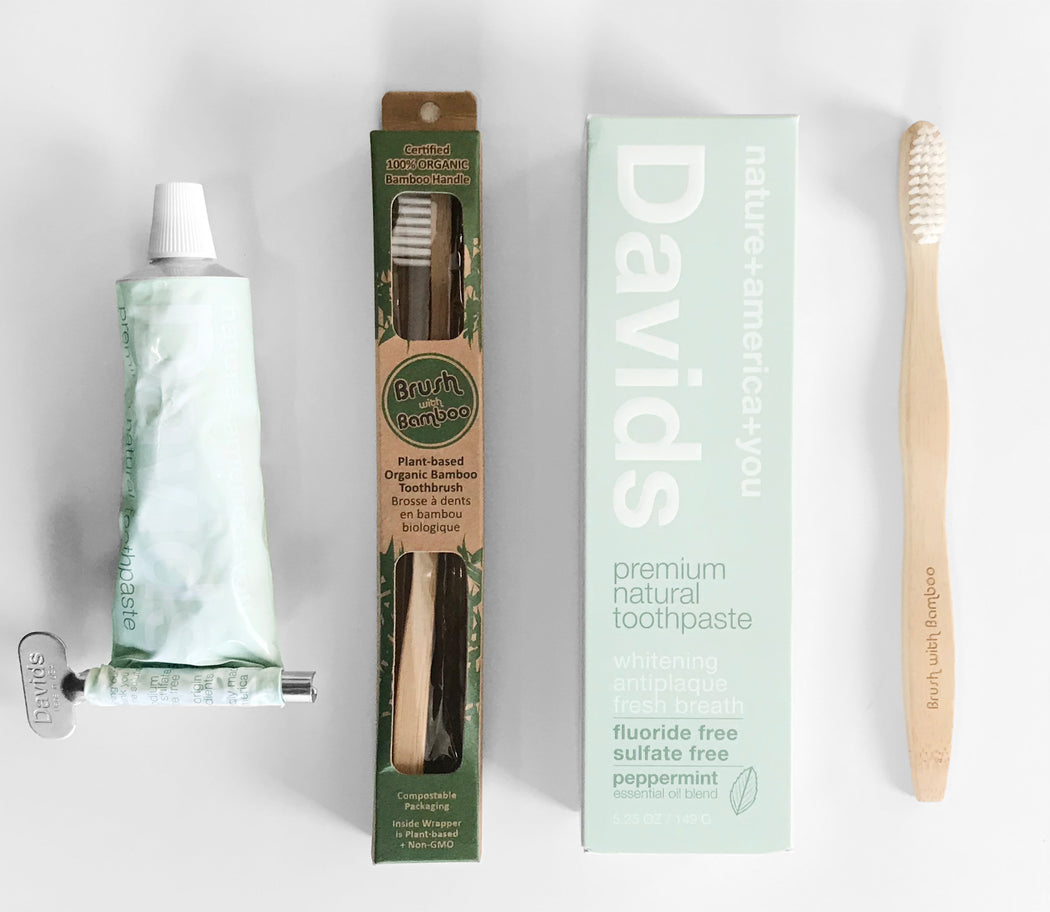 Bamboo Toothbrush // BRUSH WITH BAMBOO