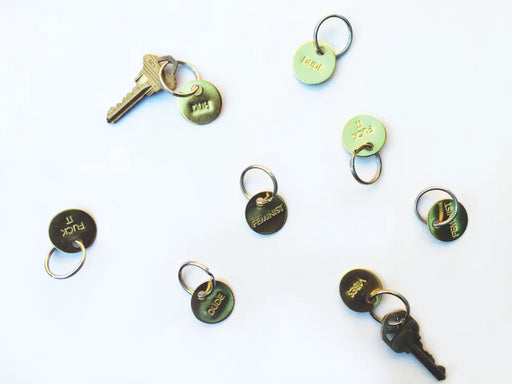 Small Brass Keychain // CHAPARRAL STUDIO