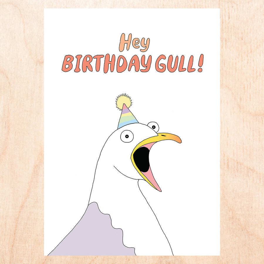 Birthday Gull Card