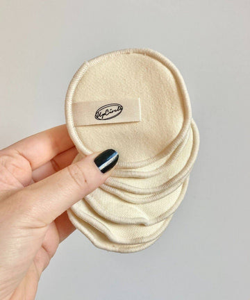 Hemp And Cotton Reusable Cosmetic Pads