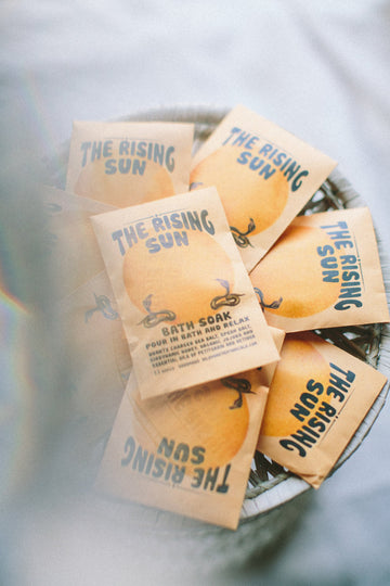 The Rising Sun Bath Soak