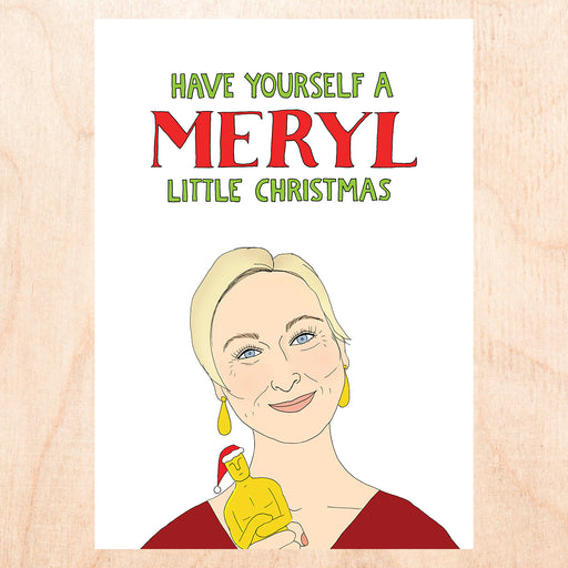 Meryl Little Christmas Card