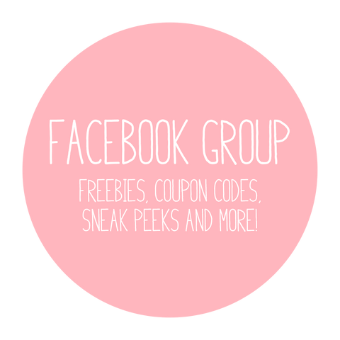Join our Facebook for freebies and coupons!