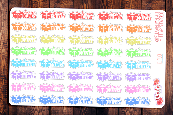 Amazon Delivery Planner Stickers DI100