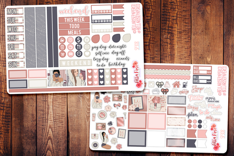 Self Made Hobonichi Weeks Sticker Kit SP308