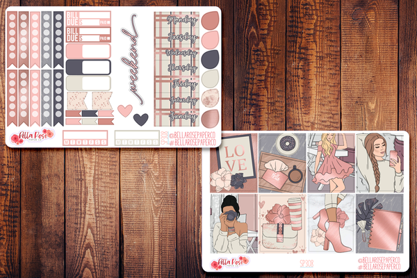 Self Made Planner Sticker Kit SP308