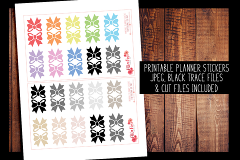 Bow Tabs 1"
