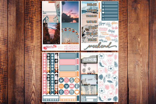 Cali Vibes Photo Mini Sticker Kit SP311