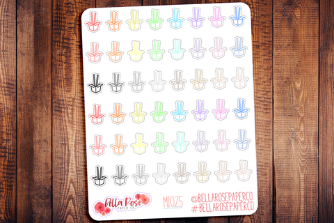 Chinese Takeout Mini Icon Planner Stickers MI025
