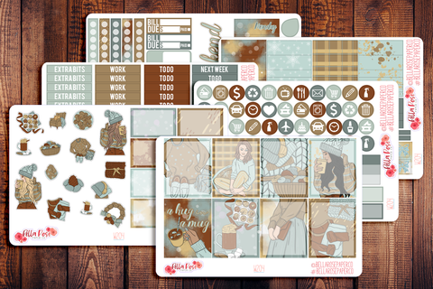 Cozy Winter Planner Sticker Kit W204