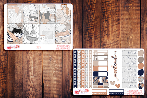 Let's Stay Home Planner Sticker Kit SP314