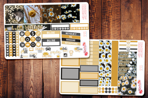 Daisy Photo Mini Happy Planner Sticker Kit SP305