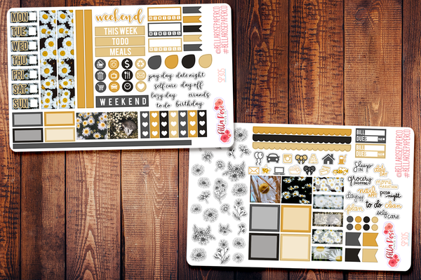 Daisy Photo Hobonichi Weeks Sticker Kit SP305