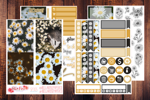 Daisy Photo Mini Sticker Kit SP305