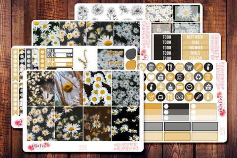 Daisy Photo Planner Sticker Kit SP305