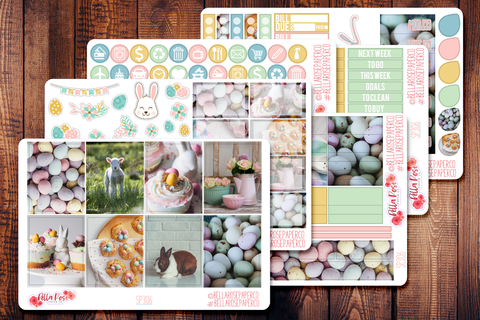 Easter Day Photo Planner Sticker Kit SP306
