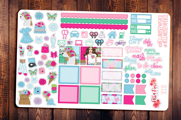 Floral Shop Hobonichi Weeks Sticker Kit SP310