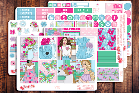 Floral Shop Planner Sticker Kit SP310
