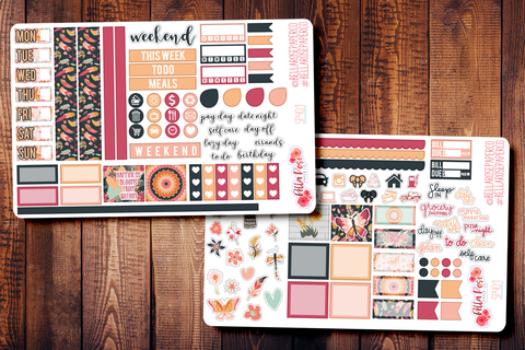 Full Bloom Hobonichi Weeks Sticker Kit SP401
