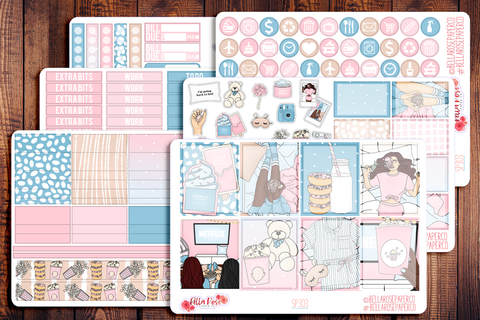 Girls Night Planner Sticker Kit SP303