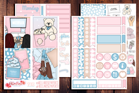 Girls Night Mini Sticker Kit SP303
