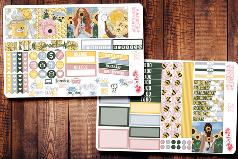 Honey Pot Mini Happy Planner Sticker Kit SP307