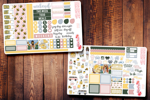 Honey Pot Hobonichi Weeks Sticker Kit SP307