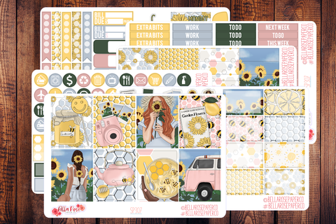 Honey Pot Planner Sticker Kit SP307