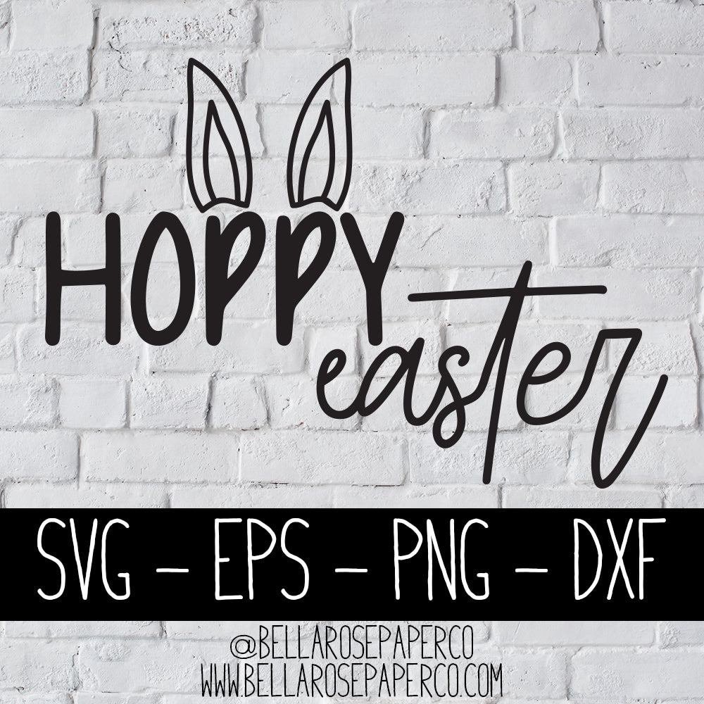 Hoppy Easter | DIGITAL SVG BUNDLE