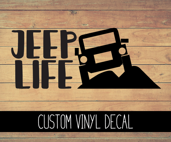 Jeep Life Vinyl Decal