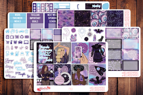 Believe in Magic Planner Sticker Kit F403
