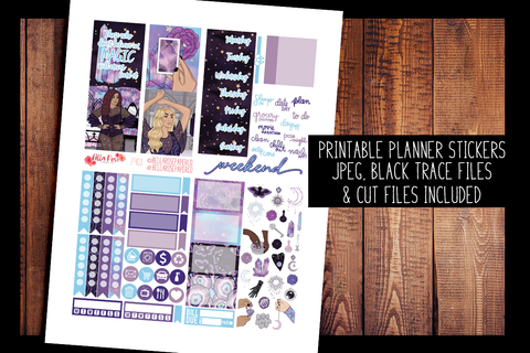 Believe in Magic Mini Planner Kit | PRINTABLE PLANNER STICKERS