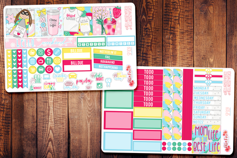 Mom Life Mini Happy Planner Sticker Kit SP309